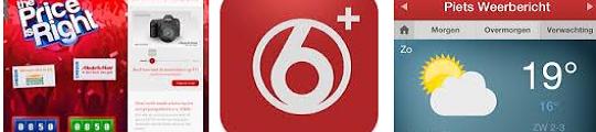 SBS6+ app voor iPhone als tweede scherm