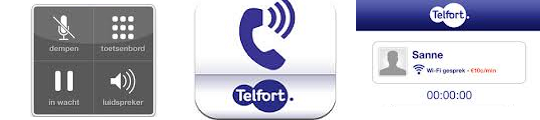 Proef met Telfort Wifi Bellen voor de iPhone