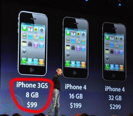 lancering iPhone 4