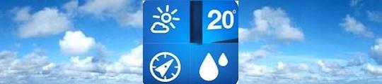 Swipe door het weer met de Weathercube op je iPhone