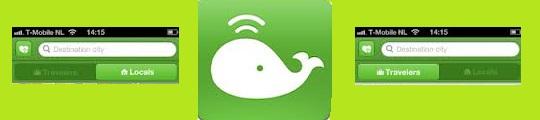 Ontmoet reisgenoten en locals met de Trippal iPhone app