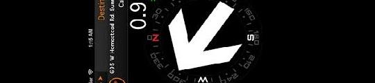 Pijlnavigatie op je iPhone met FastTrack Navigator