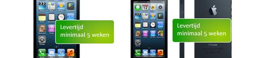 Levering iPhone 5 bij KPN afhankelijk van aanbieding