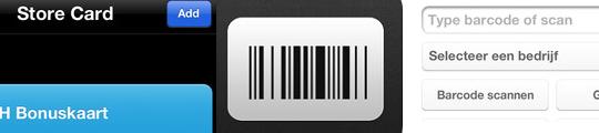 PassMaker iPhone app voor al je winkelpasjes