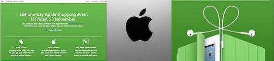 Korting op iPhone apps en Apple artikelen tijdens Black Friday