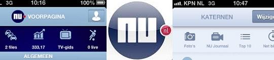 Nieuwe NU.nl app voor de iPhone