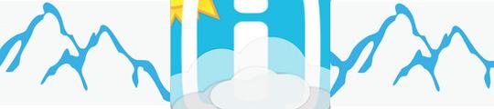 Sneeuwalarm en webcams met Weerplaza app voor iPhone