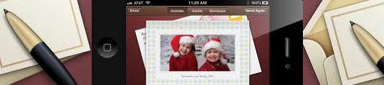 Cards app voor de iPhone ideaal om kerstkaarten te sturen