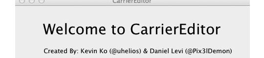 Wijzig het operatorlogo op je iPhone met CarrierEditor