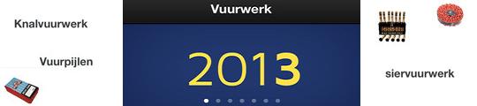 Vuurwerk app voor je iPhone om knallend het jaar uit te gaan