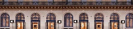 iPhones gestolen tijdens overval op Apple Store in Parijs