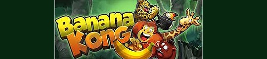 Banana Kong leuk spel voor op de iPhone