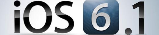 Apple brengt iOS 6.1 uit