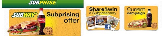 Subprise app van Subway met kortingsacties op je iPhone