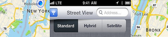 Street View app via Apple Maps op je iPhone