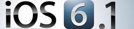 Apple werkt hard aan problemen iOS 6.1