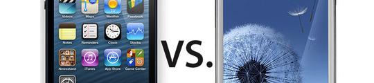 iPhone 5 haalt Samsung Galaxy S3 opnieuw in