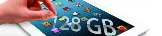 iPad nu ook met 128GB verkrijgbaar