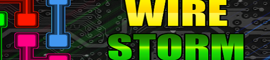 Wire Storm leuk puzzelspel voor op je iPhone