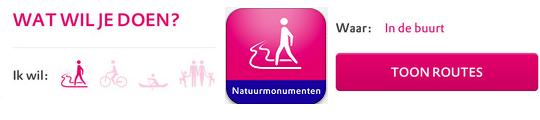 Volg Natuurroutes van Natuurmonumenten met de iPhone in je hand