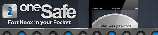 oneSafe ideale app om je wachtwoorden op te slaan op je iPhone