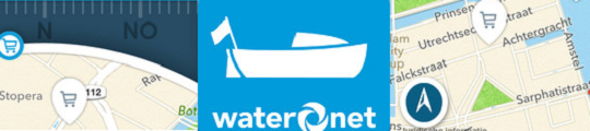 Ontdek de Amsterdamse grachten met de VaarWater 2 app op je iPhone