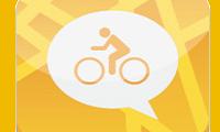 Gesproken navigatie op de fiets via de Co-Rider app op je iPhone