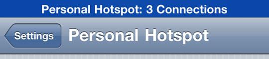 'Persoonlijke hotspot op iPhone is onveilig'