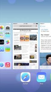 Multitasking iOS 7