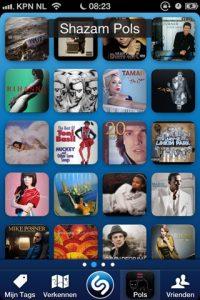Shazam in iOS 8