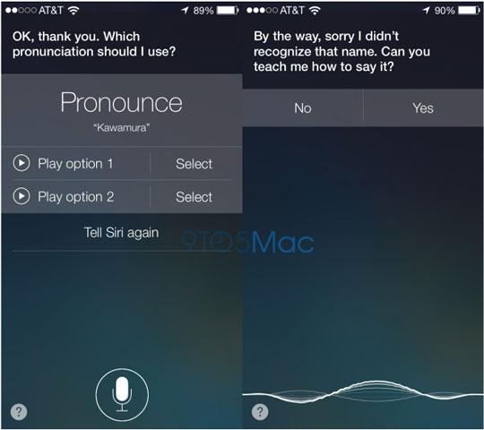 spraaksoftware Siri