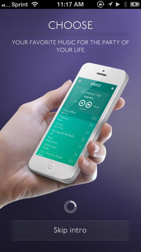 iPhone muziek app