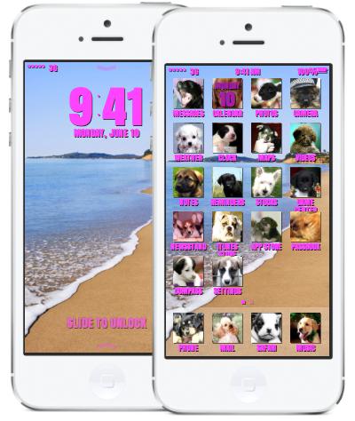 iOS 7 ontwerp