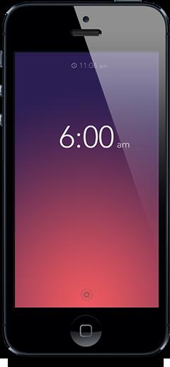 iPhone wekker app