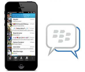 blackberry messenger lek