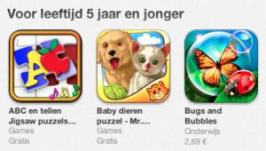 App Store zoekfunctie