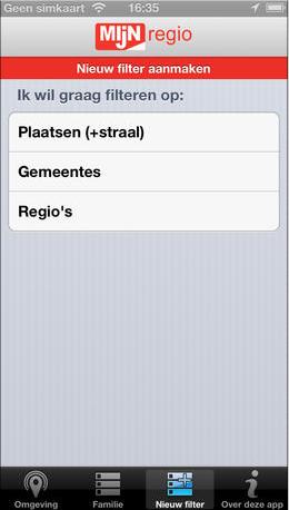regionieuws app