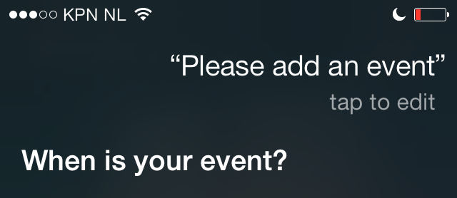 Siri gids