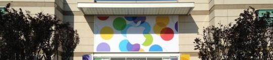 Apple Campus wordt opgetuigd voor iPhone-onthulling van vanavond