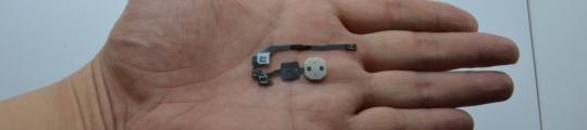 'Scherpe foto van iPhone 5S-homeknop bevestigt vingerafdrukscanner'