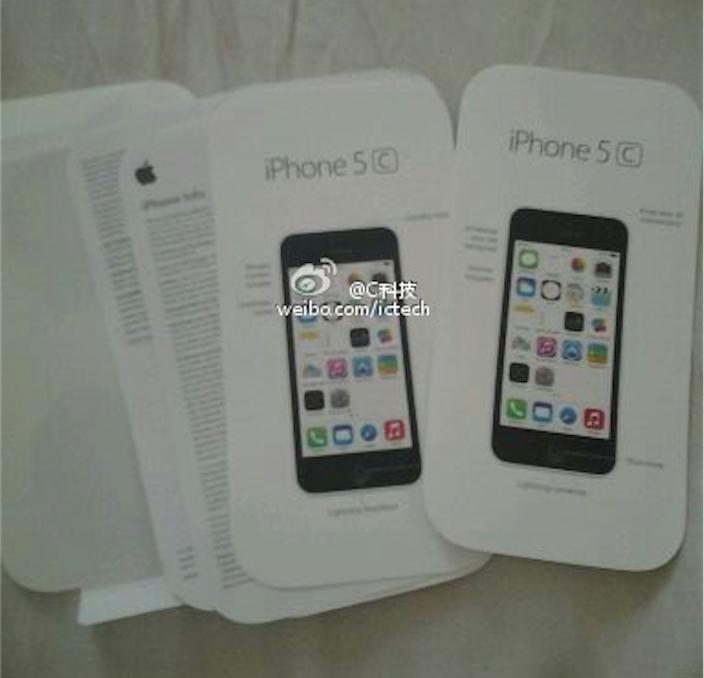 iPhone 5C verpakking