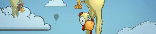 Chickens Can't Fly iOS: obstakels ontwijken met kippen