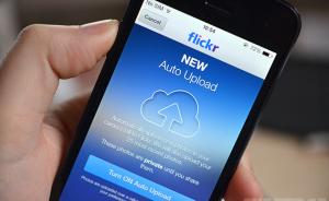 Flickr iOS-7 update