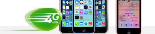 KPN iPhone 5S en iPhone 5C verkoop start vrijdag om 00:01 uur