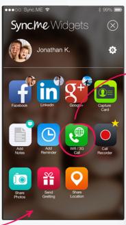 sync.me app