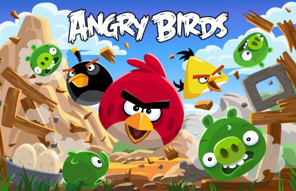 Angry Birds stripboeken in de maak