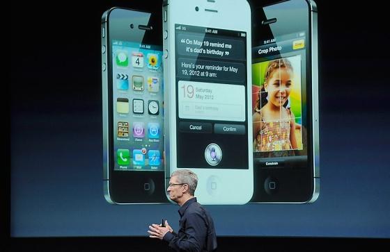 Video van de iPhone 4S onthulling in 2011
