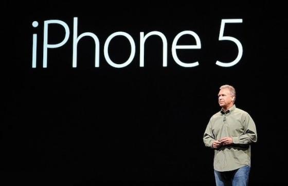 iPhone 5 onthulling van 2012 in beeld