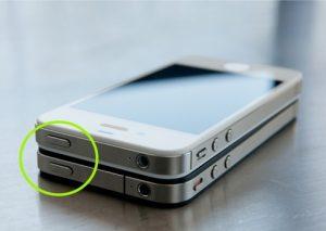 iphone aan uit schakelaar reparatie