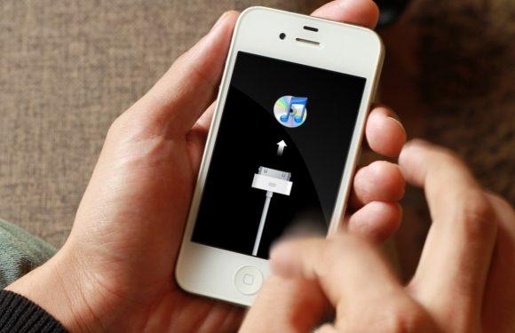 iPhone herstelmodus inschakelen